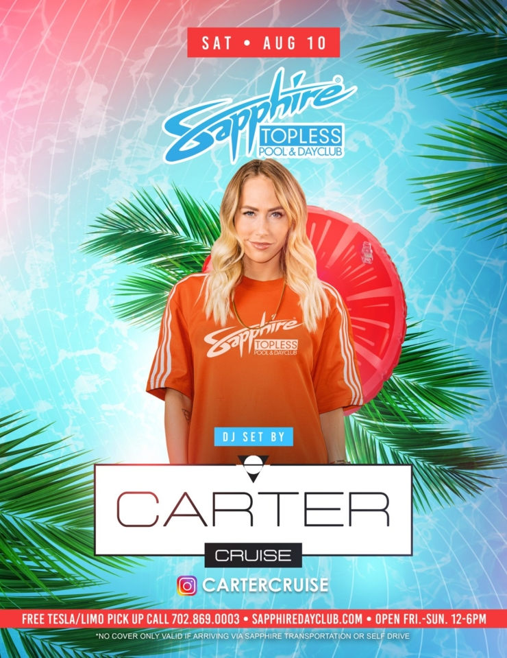Special Guest DJ Serafin Performs LIVE at Sapphire TOPLESS