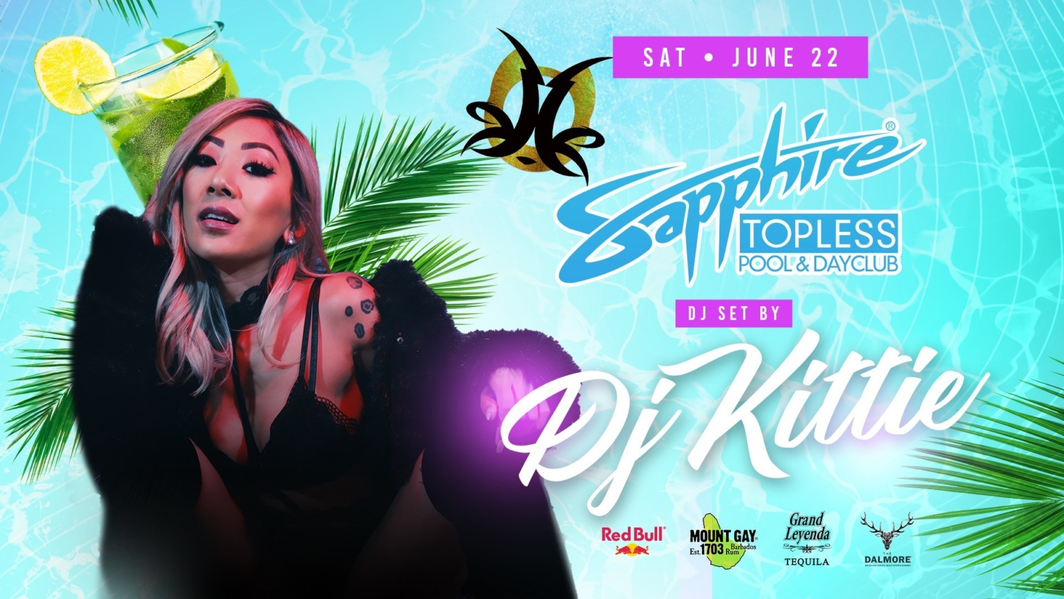 Special Guest DJ Kittie Performs LIVE at Sapphire Topless