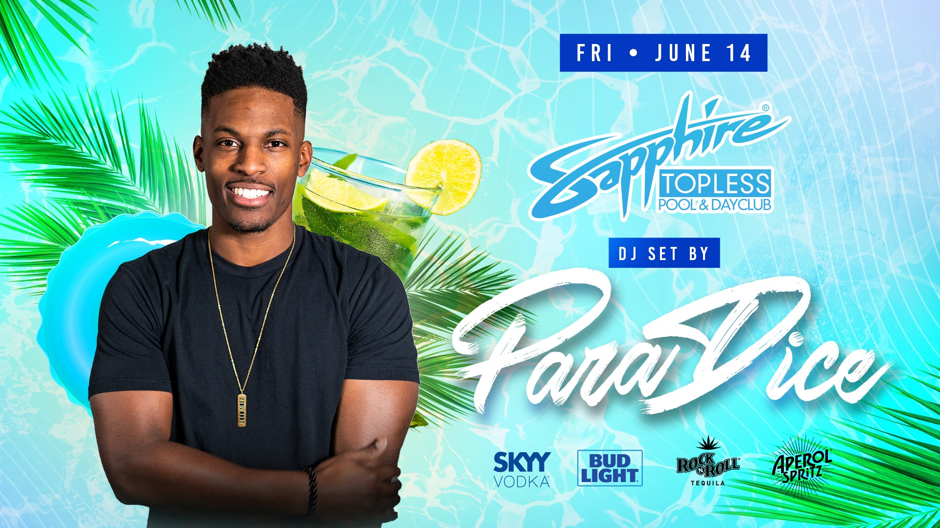 DJ Skillz Performs LIVE Sapphire Topless Pool and Dayclub