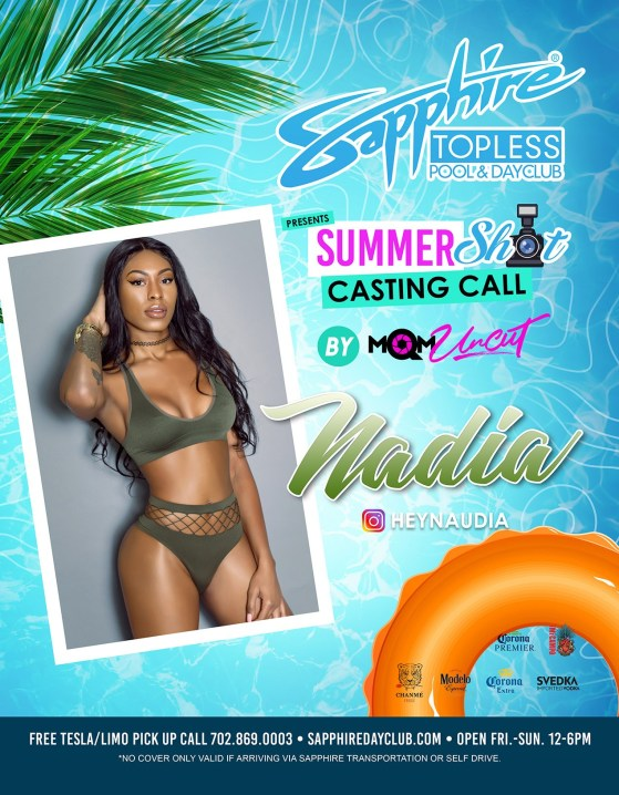 Summer Shot Casting Call Hosted by @HeyNaudia