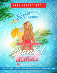 Hosted by Instagram Sensation Shantal Monique