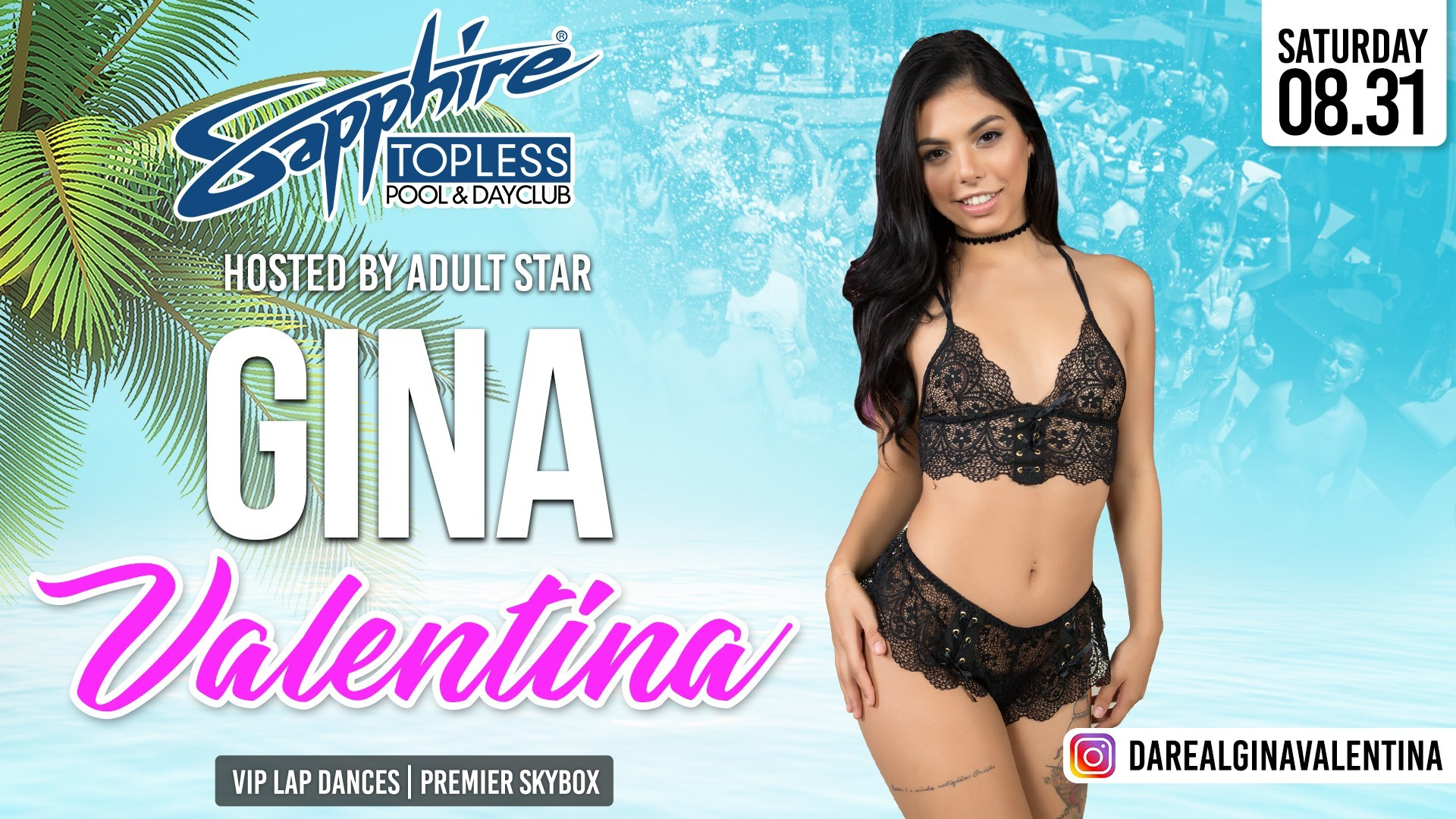 Hosted by Adult Star Gina Valentina