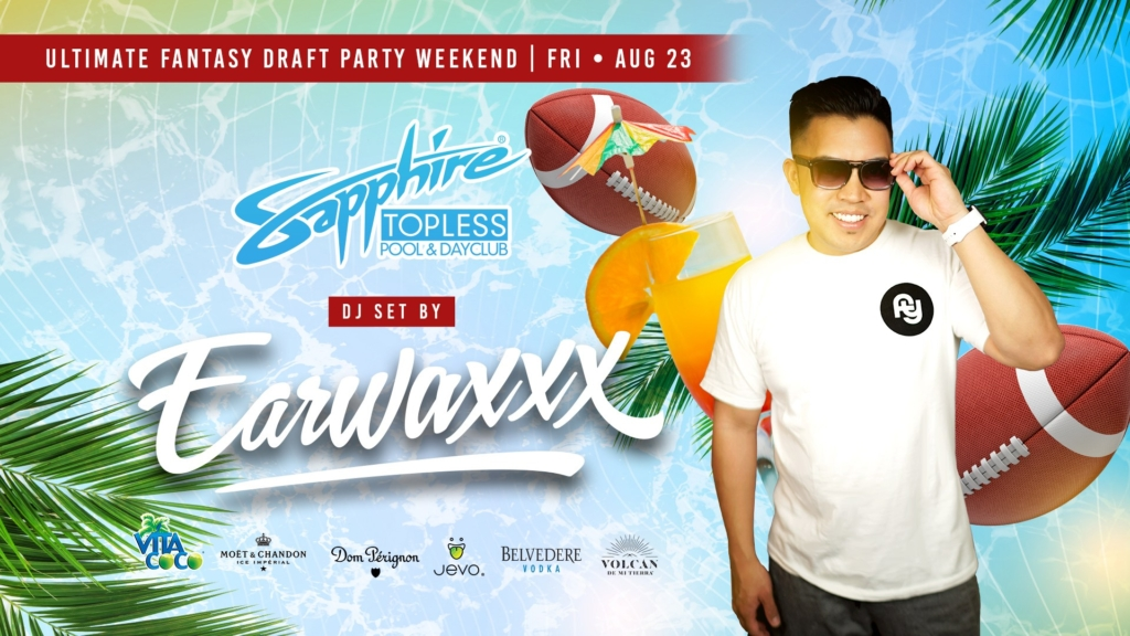 DJ Tism Performs LIVE Sapphire Topless Pool and Dayclub