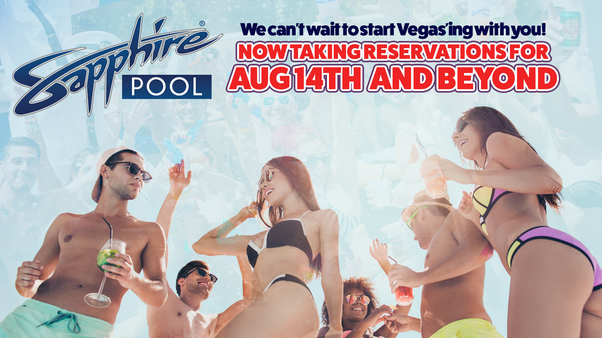 Sapphire Pool Reservations Aug 14 and Beyond