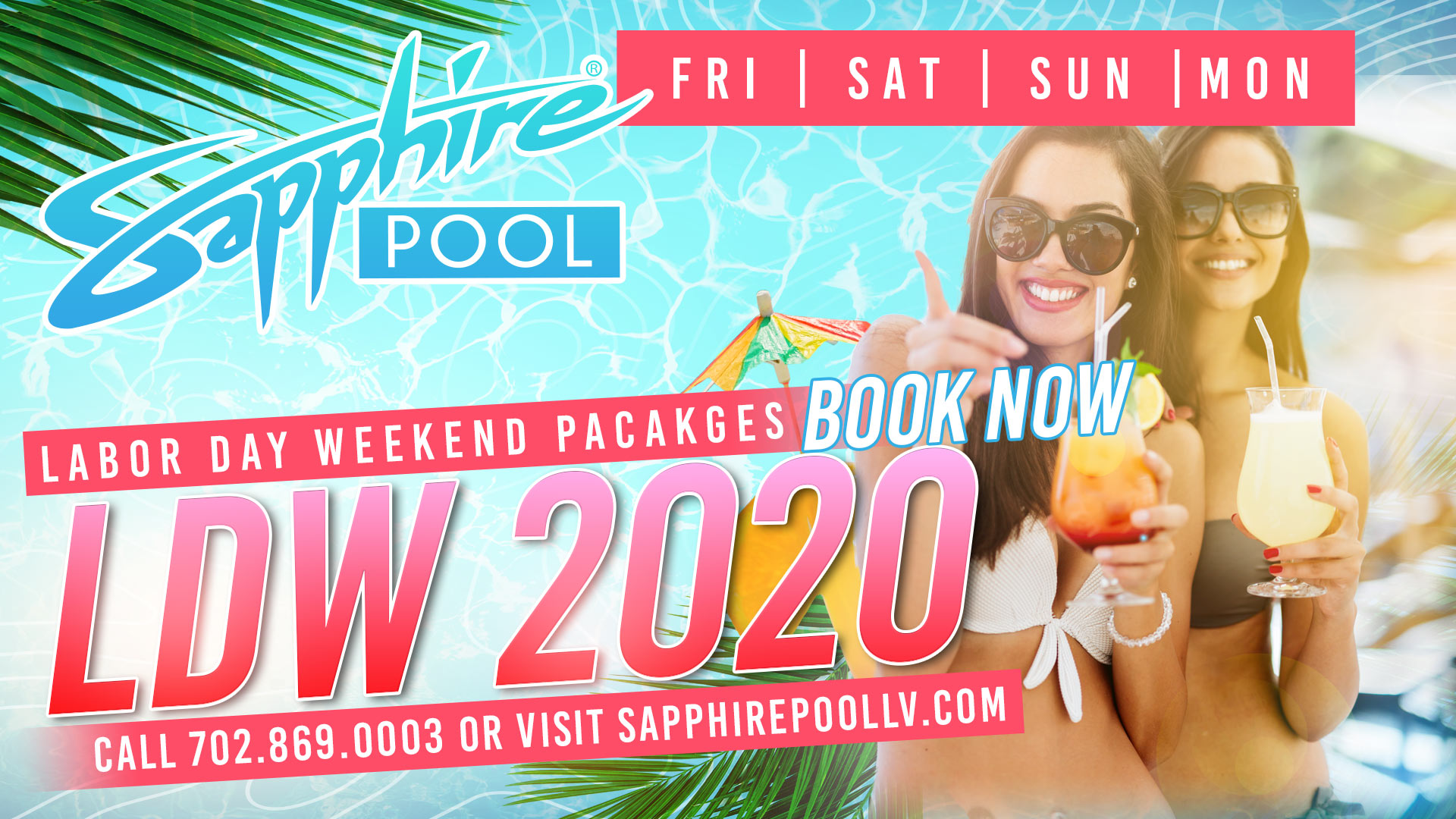 Labor Day Weekend Recap At The Sapphire Pool