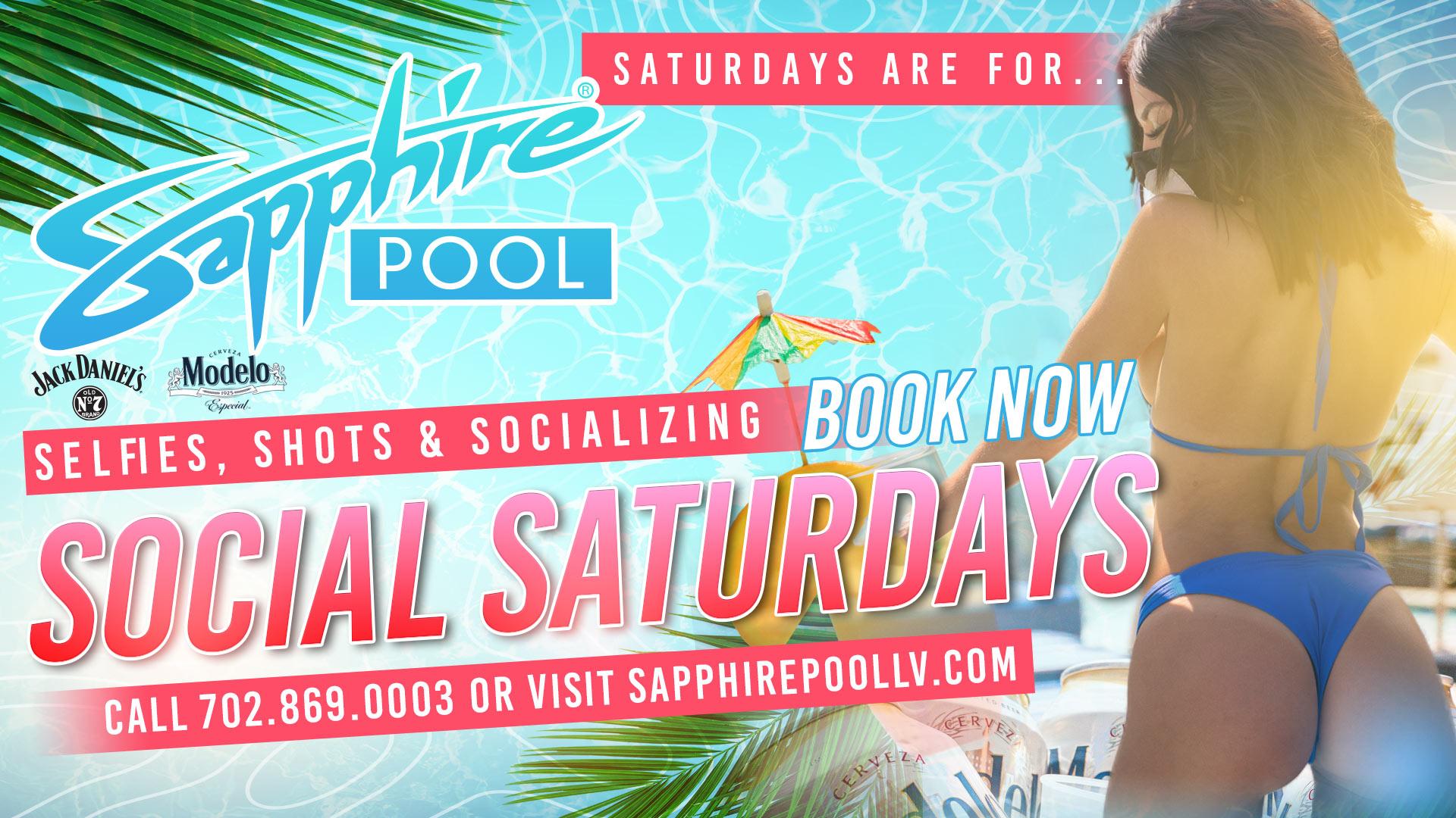 Social Saturdays Poolside in LV