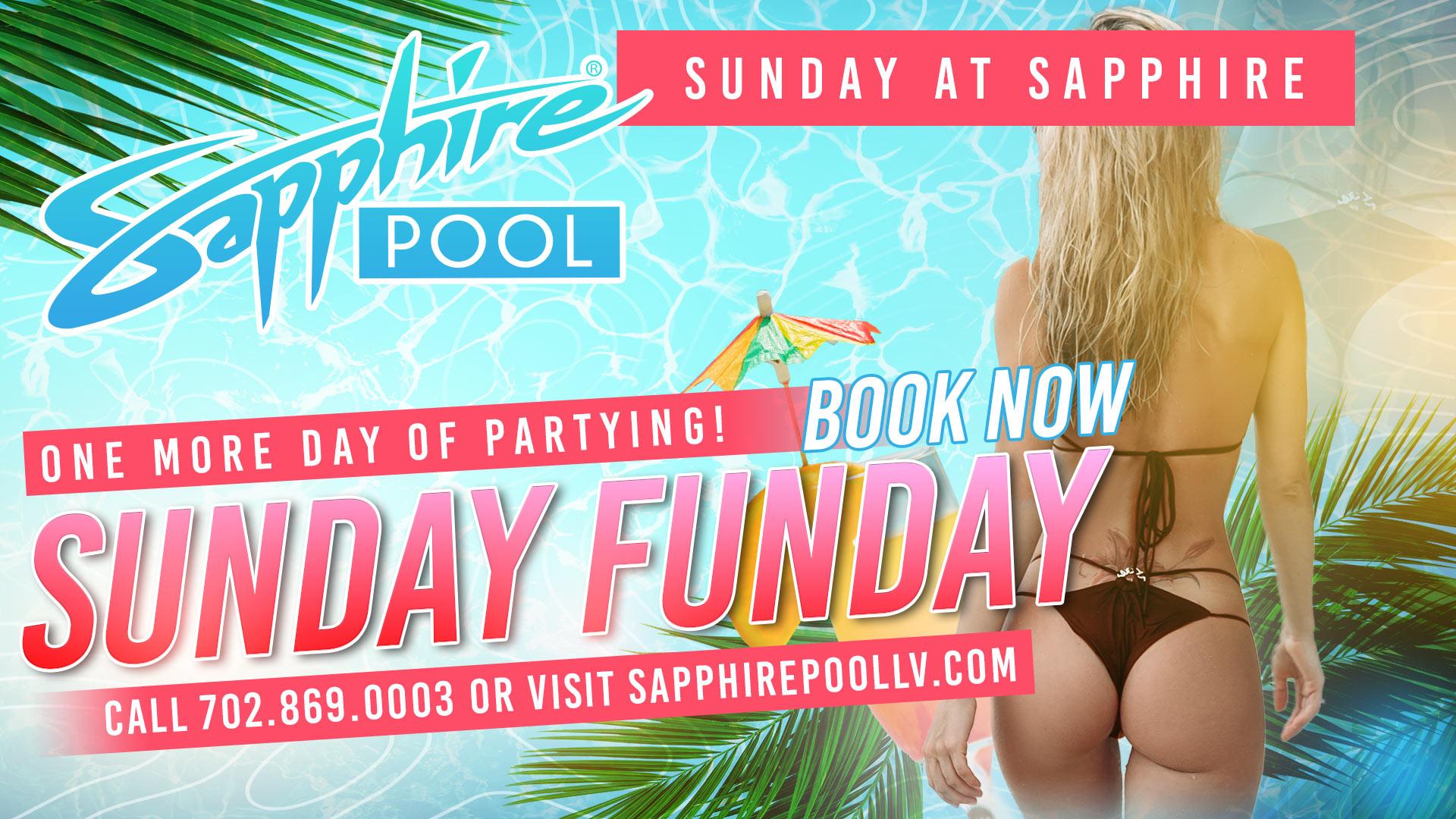 Sunday Funday Poolside Vegas party