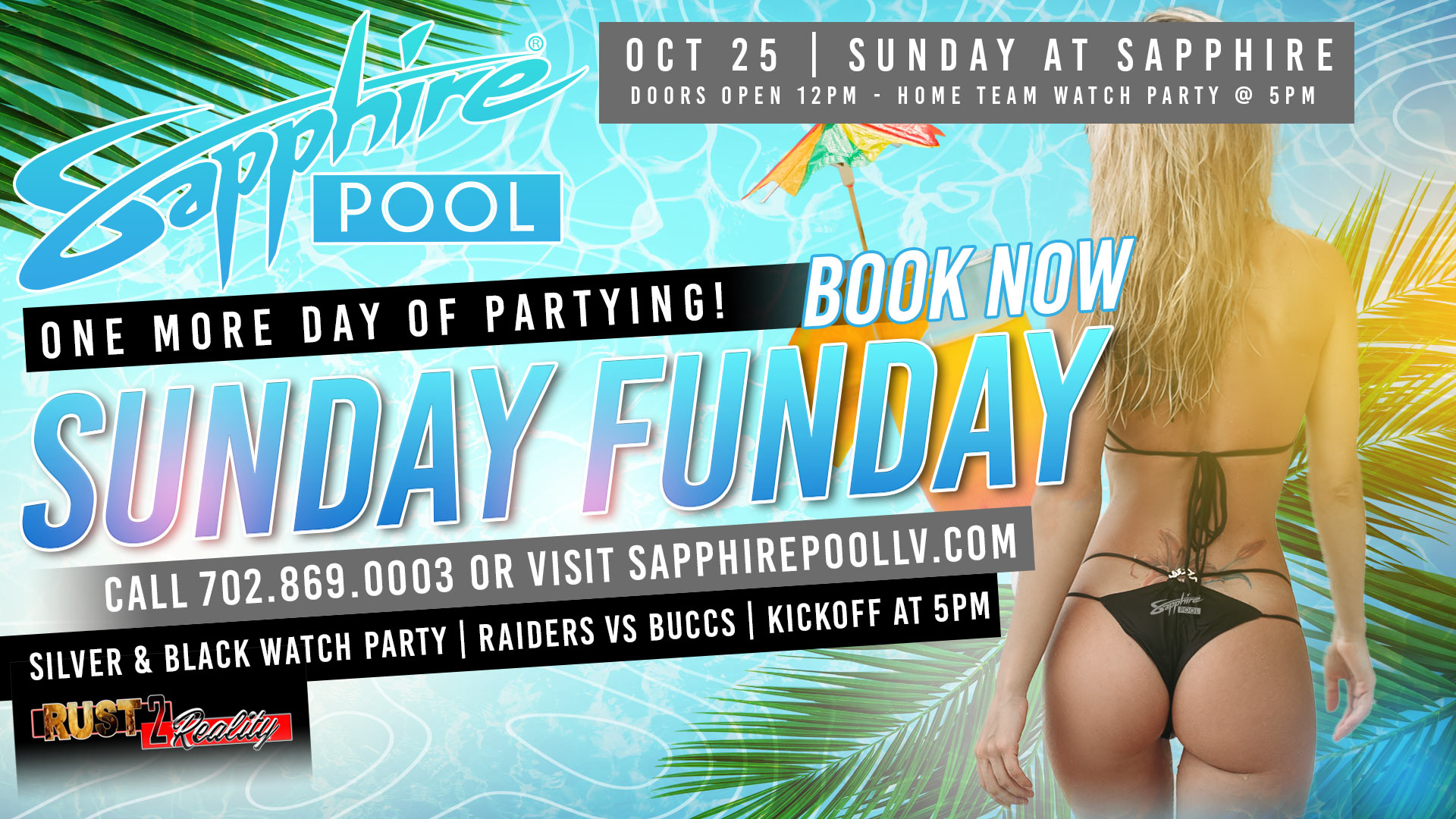 LV Raiders Fan Club Watch Party at Sapphire Pool