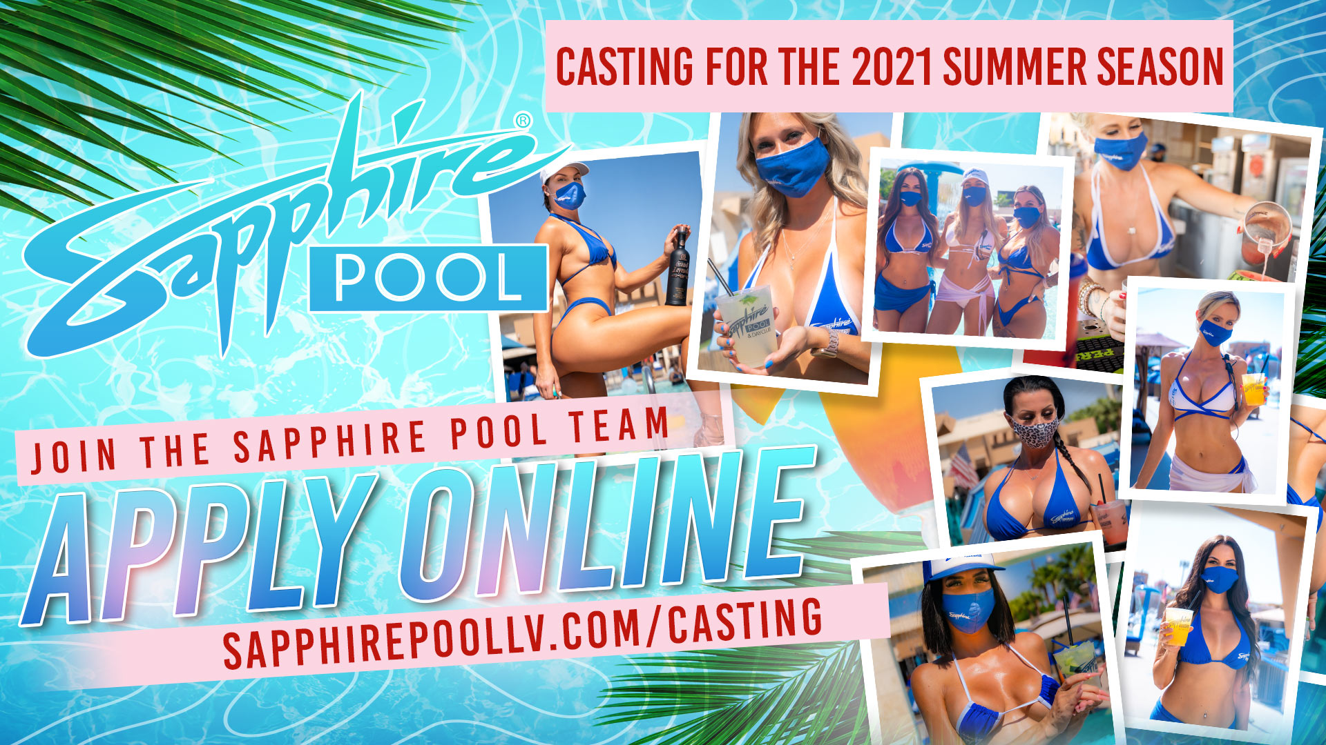 Sapphire Pool – Casting for the 2021 Summer Season