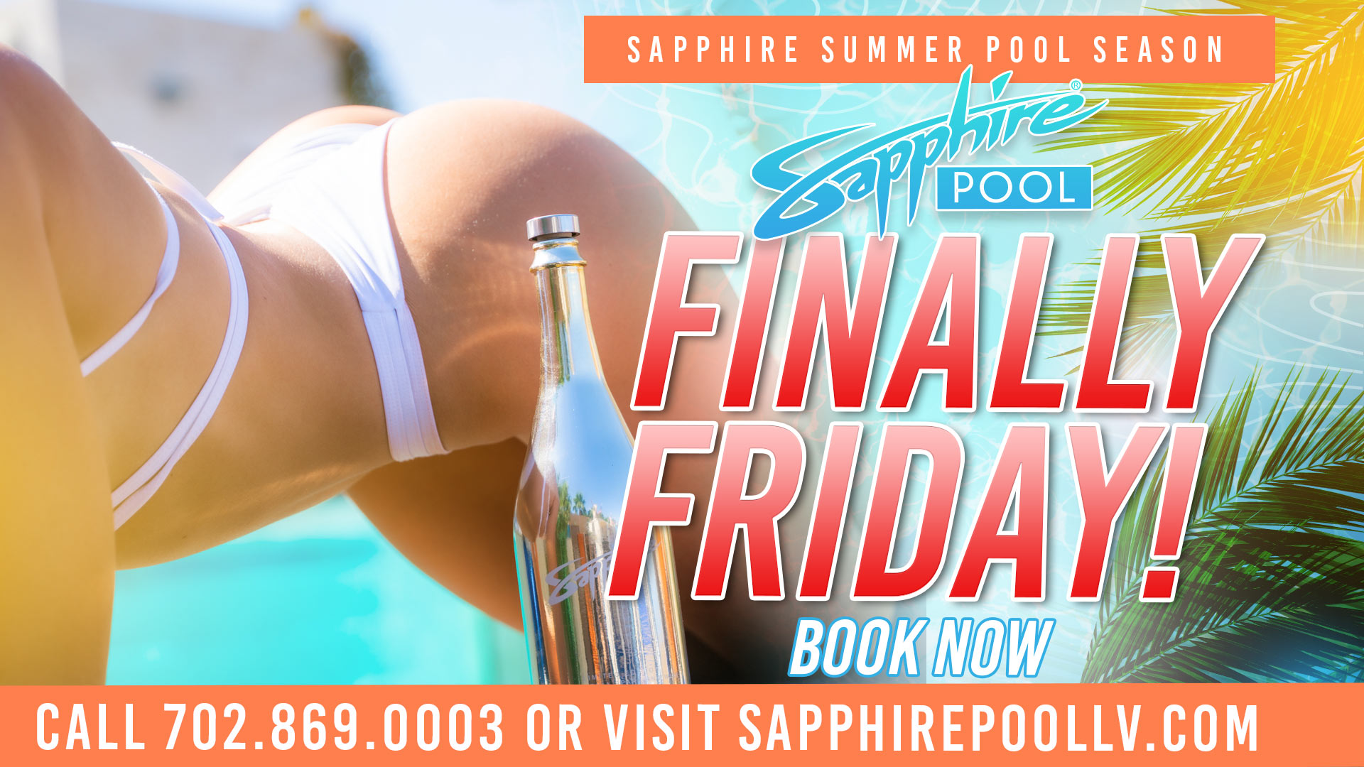 DJ P Dot Performs Live For Finally Friday at Sapphire Pool in Las Vegas- May 21st