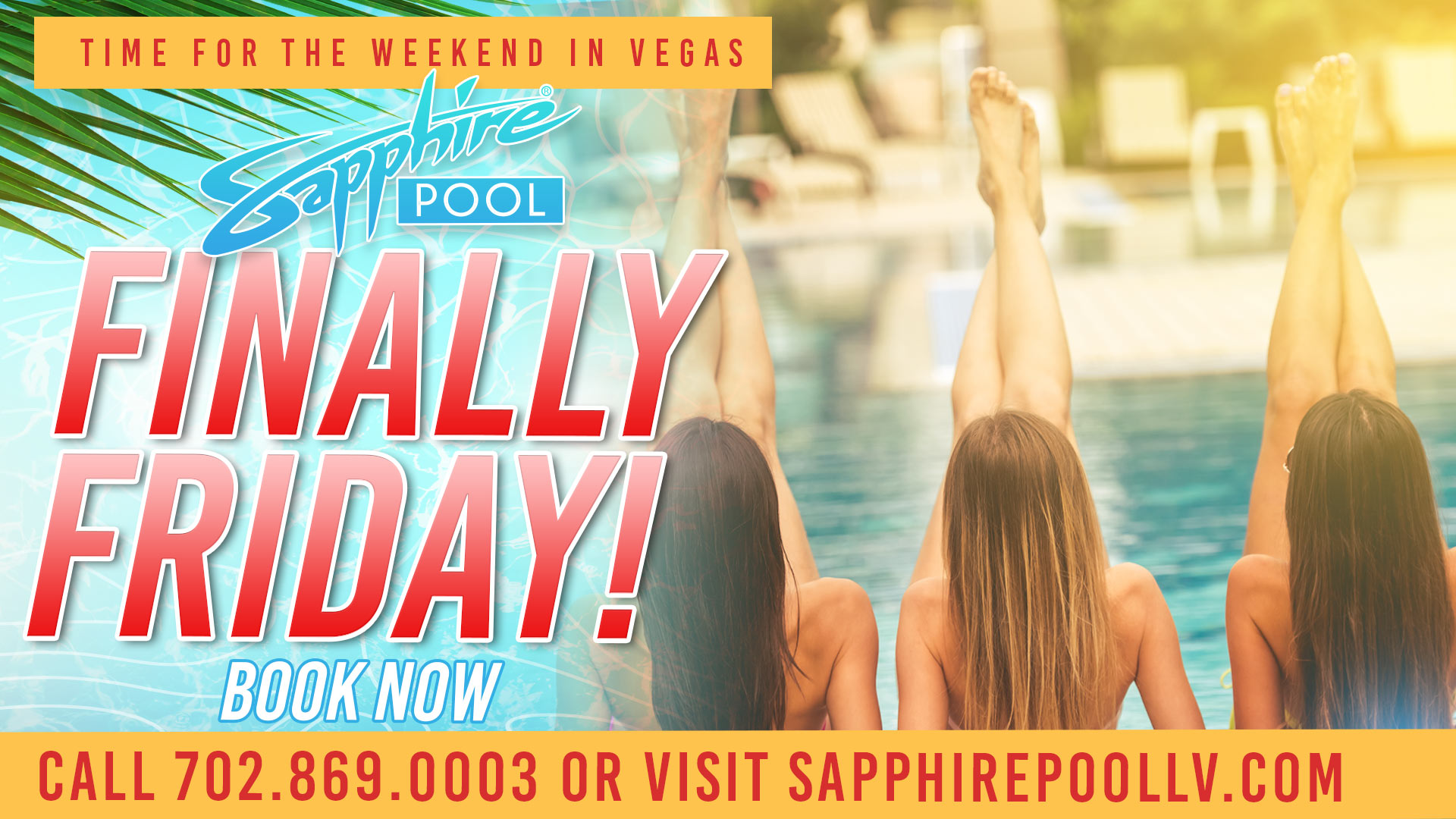 Finally Friday – May 7th – at Sapphire Pool in Las Vegas