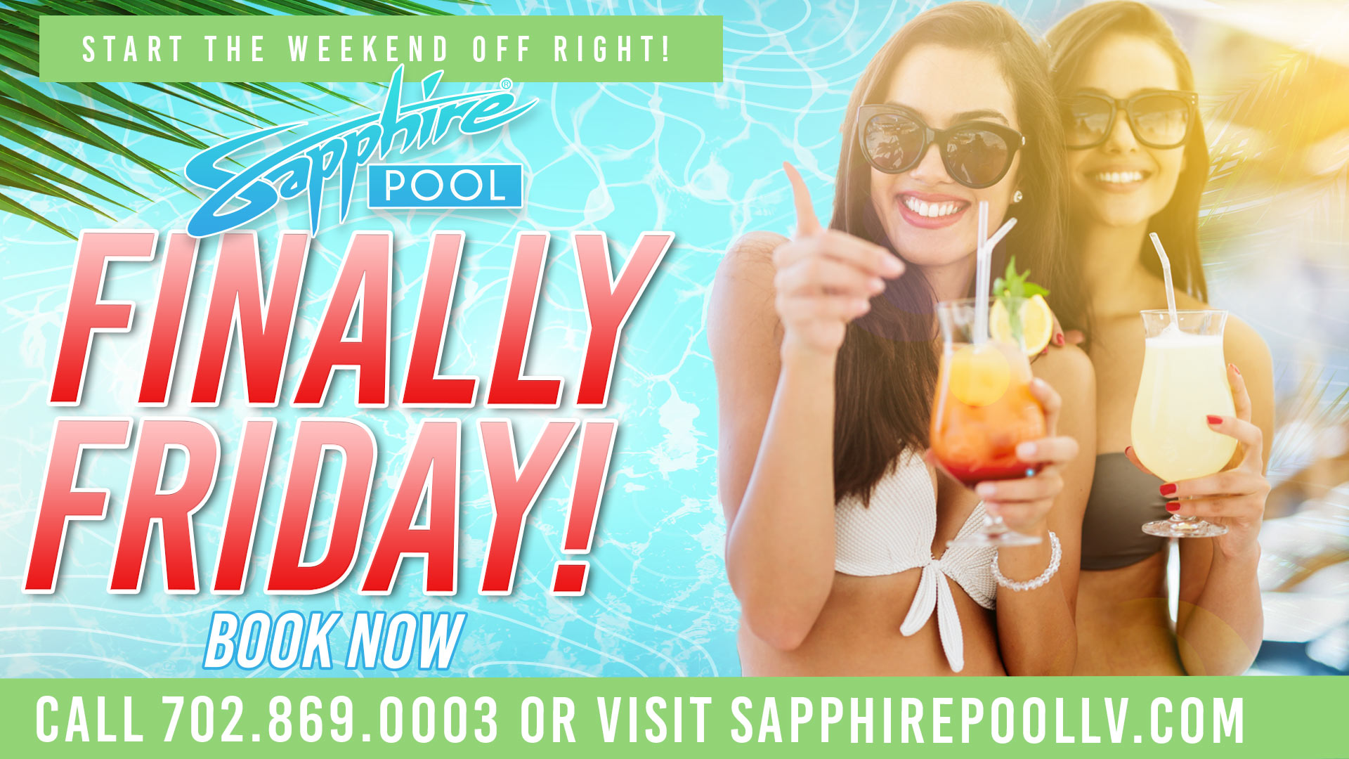 Finally Friday – June 25th – at Sapphire Pool in Las Vegas