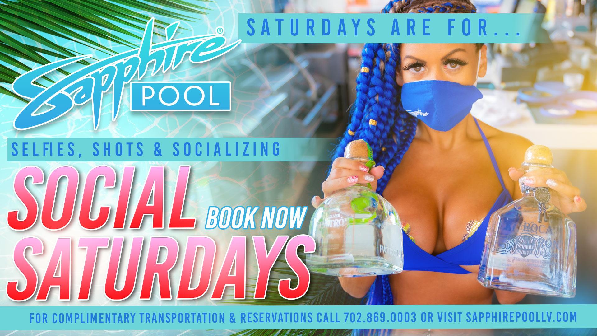 Social Saturdays – June 26th – Poolside in LV