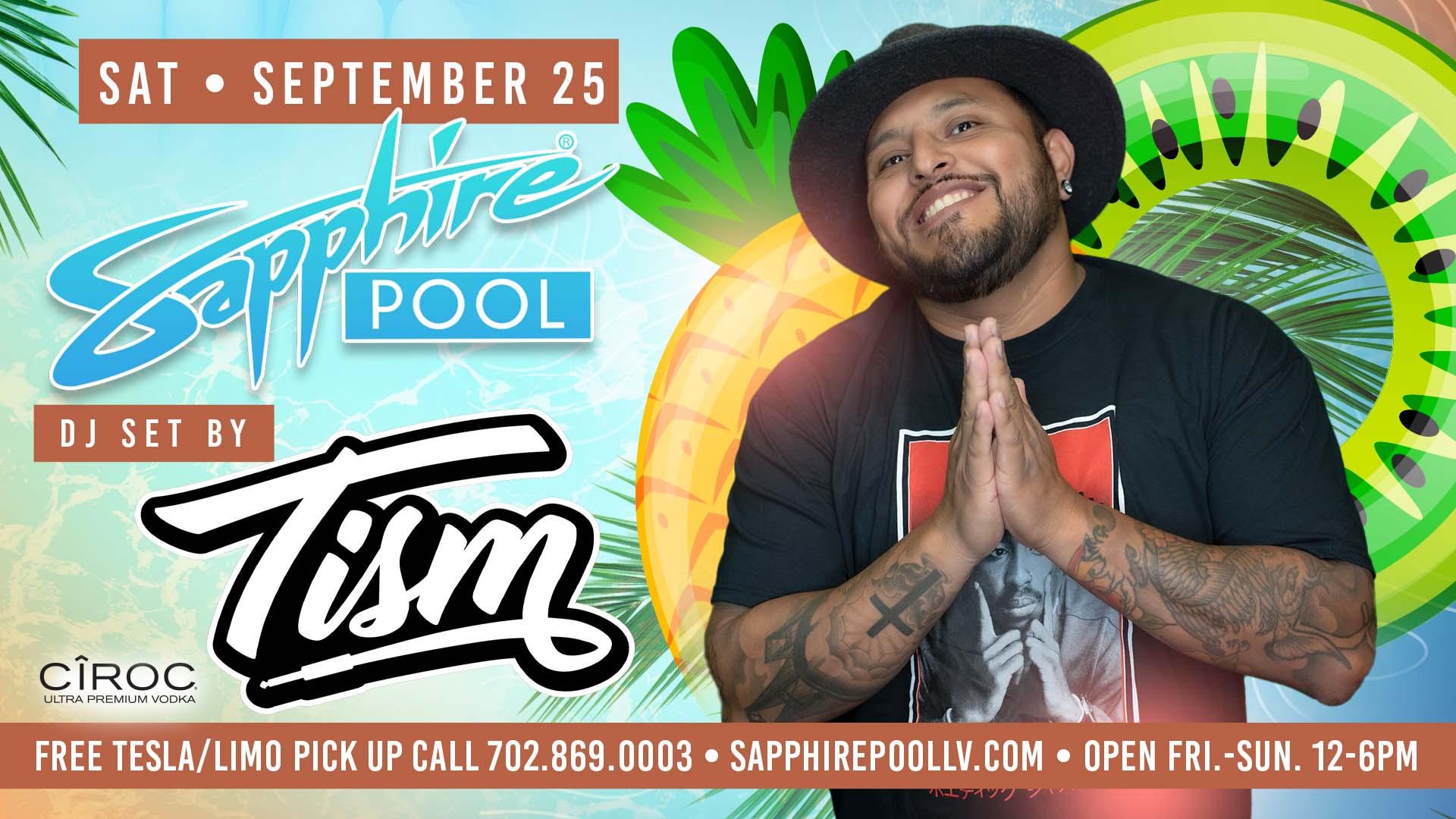 DJ Tism Performs LIVE For Social Saturdays – Sept 25th – Poolside in LV